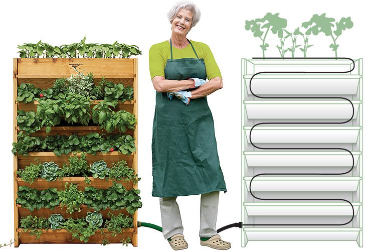 Gronomics Vertical Garden Set Up Easy As 1 2 3