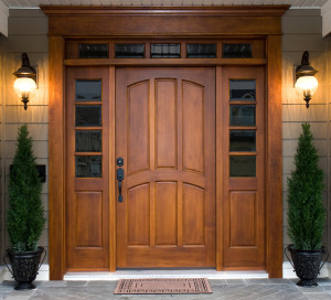 Naked Front Door