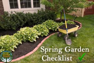 Spring Garden Checklist