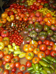 There are so many types of tomatoes!