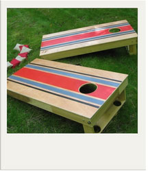 Bean Bag Toss - Cornhole Summer Yard Game