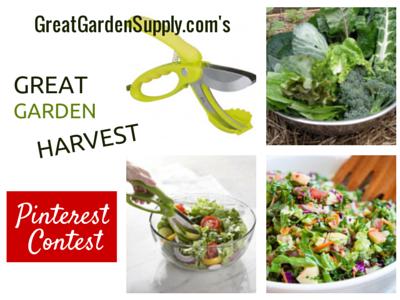 great garden harvest pinterest contest - Garden Harvest Supply